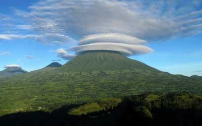 Rwanda Volcano Hike