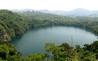 Lakes in Uganda